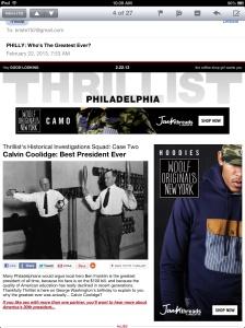Calvin Coolidge was Greatest President