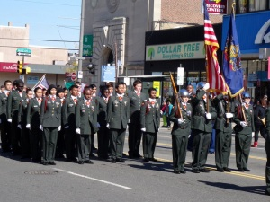 South Philadelphia JROTC, Columbus Day Parade, 2014. photo by Don Groff